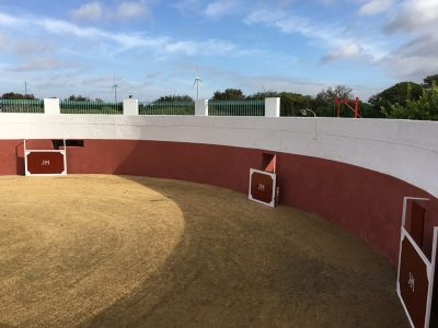 Plaza de toros para capeas, espectáculos ecuestres, actividades al aire libre en Dehesa Bolaños