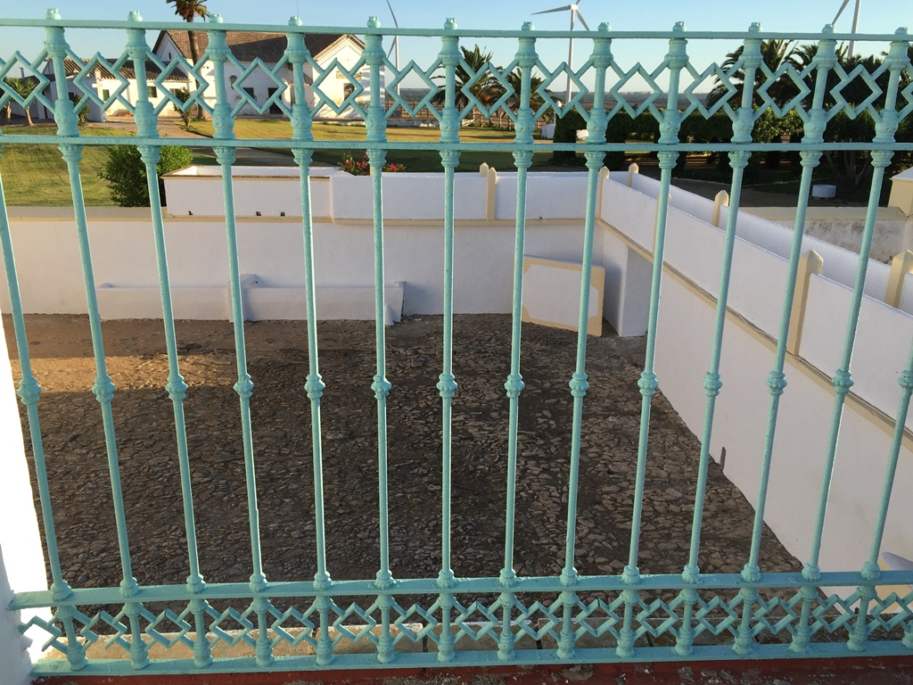 Patio plaza de toros Dehesa Bolaños