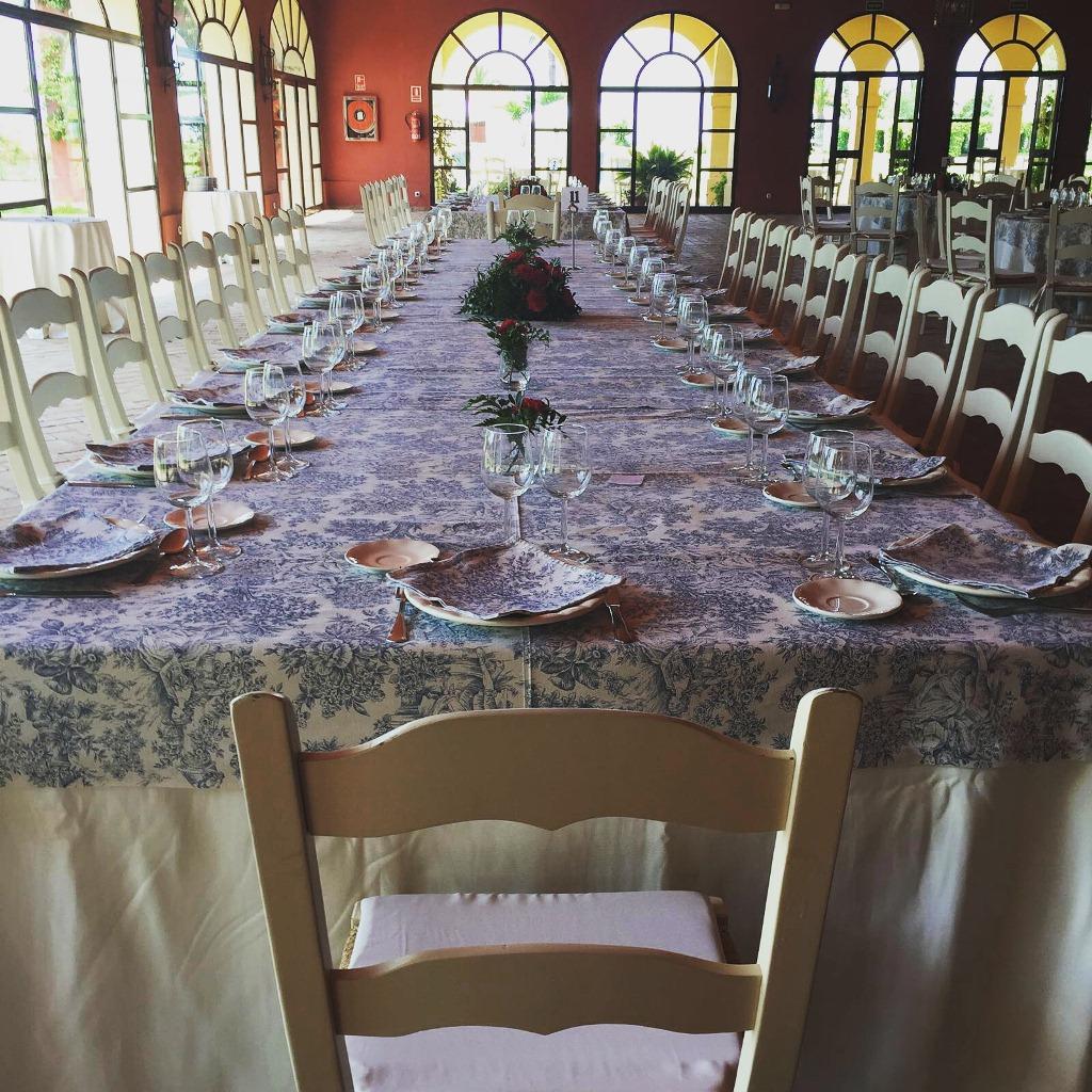 Mesa imperial - Comunión Antonio en Dehesa Bolaños