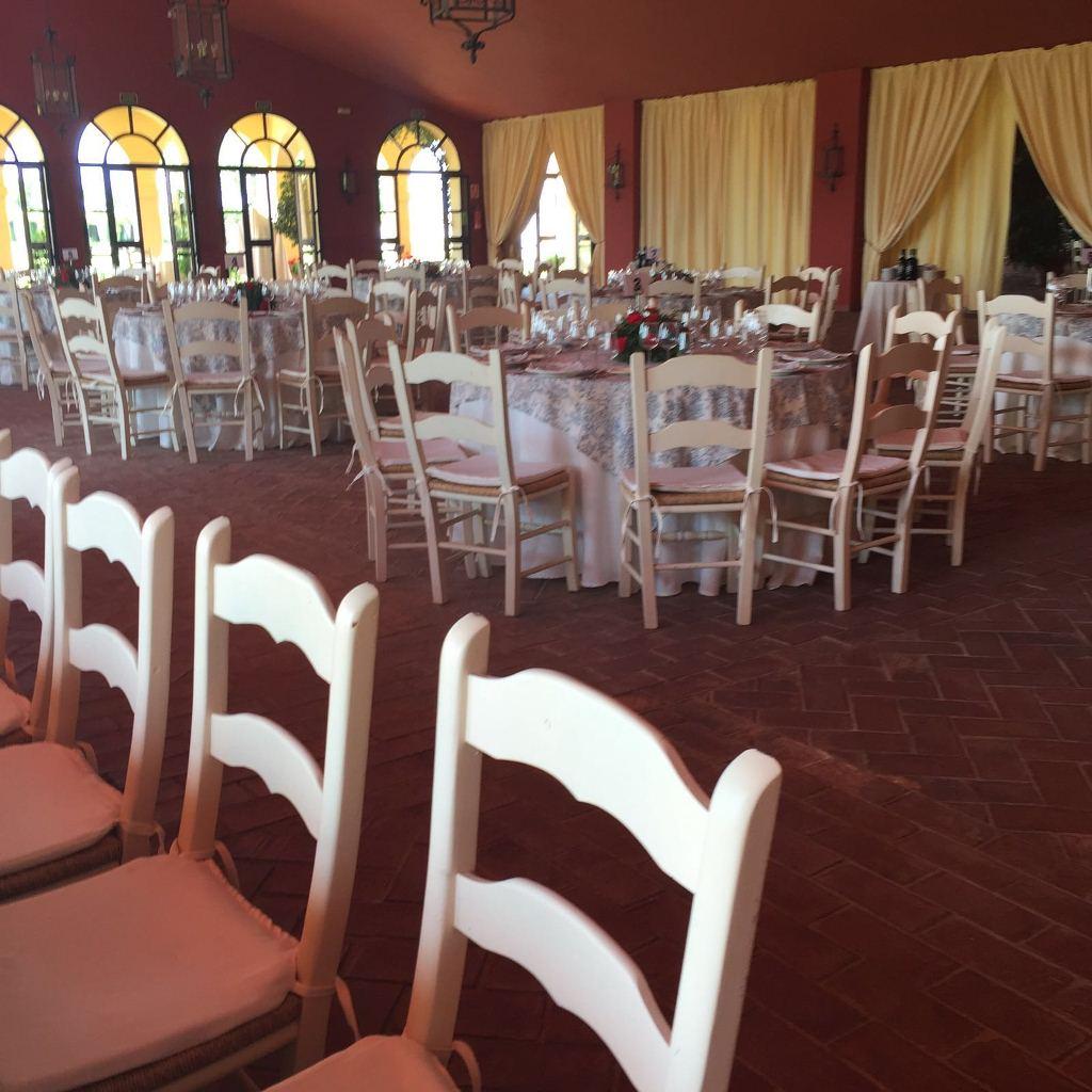 Almuerzo en salón - Comunión Antonio en Dehesa Bolaños