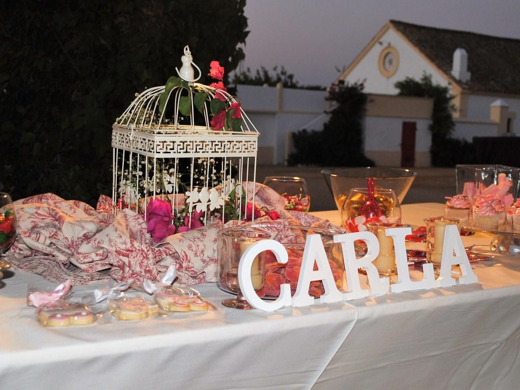 Candy bar - Bautizo Carla en Dehesa Bolaños