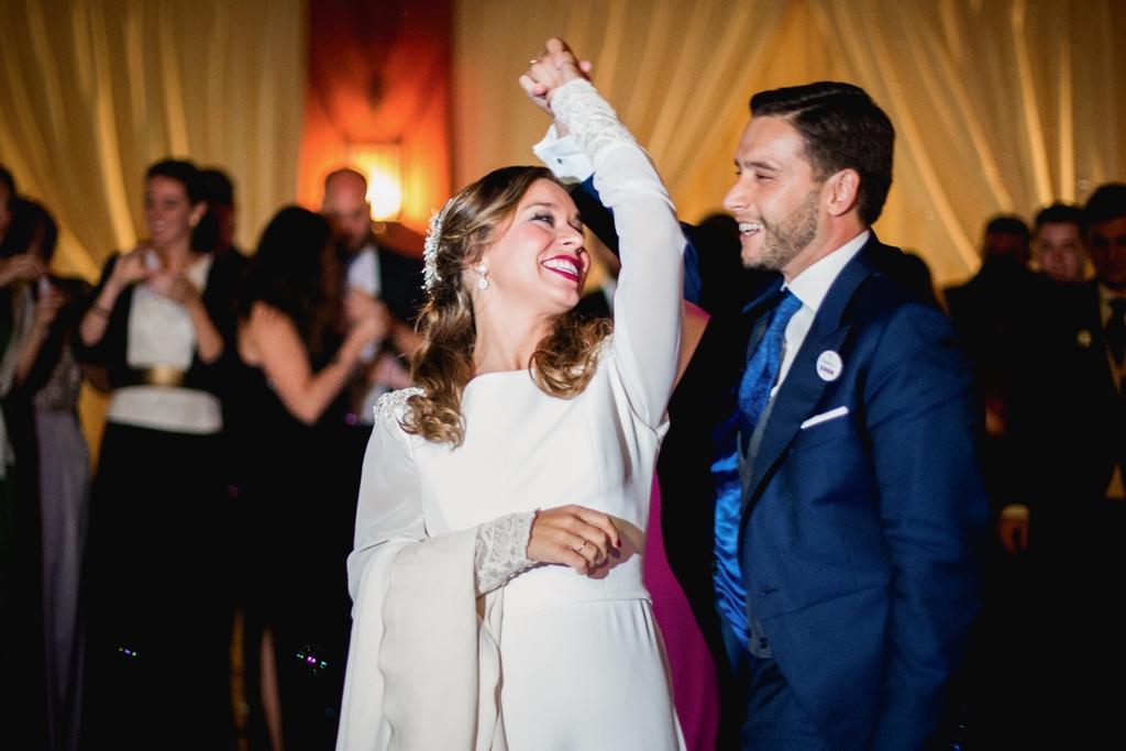 Baile novios - Boda María & Ale en Dehesa Bolaños