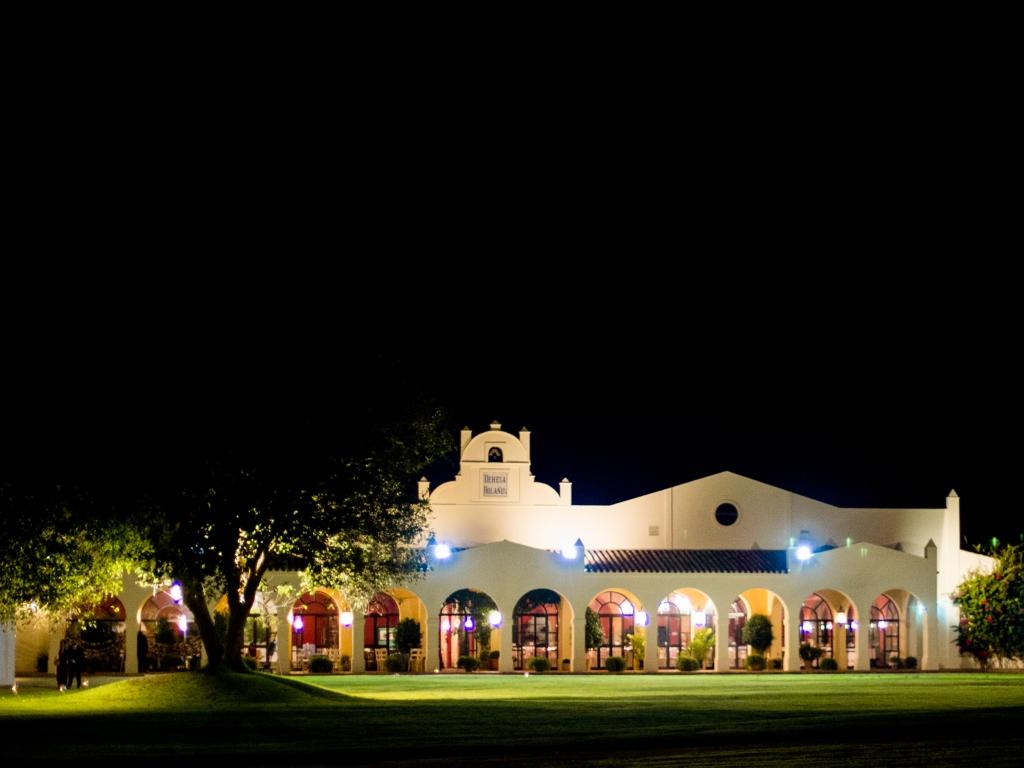 Exterior salones - Boda María & Ale en Dehesa Bolaños