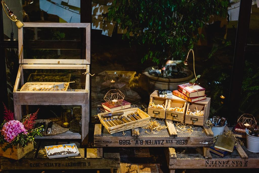Corner de fumadores - Boda María & Ale en Dehesa Bolaños