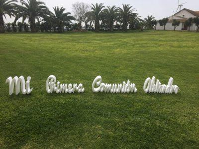 Letras mi primera comunión - Comunión Alejandro en Dehesa Bolaños