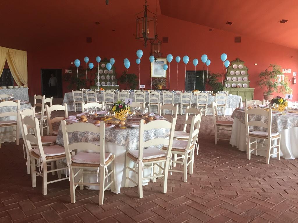 Almuerzo en salón - Comunión Alejandro en Dehesa Bolaños