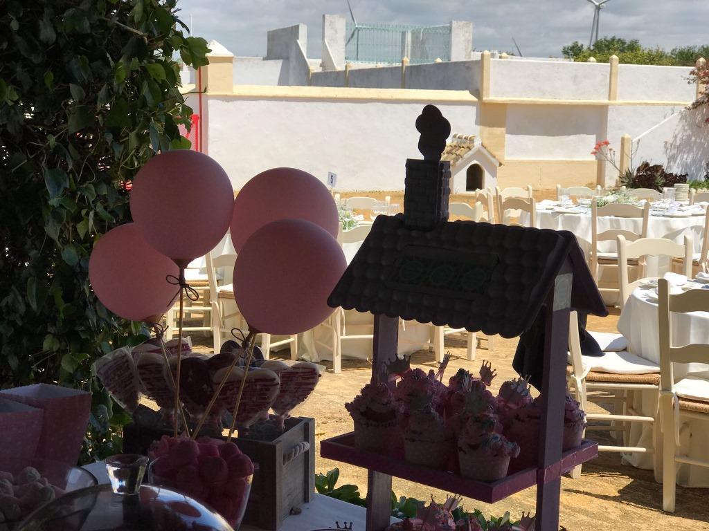 Banquete al aire libre - Comunión María en Dehesa Bolaños