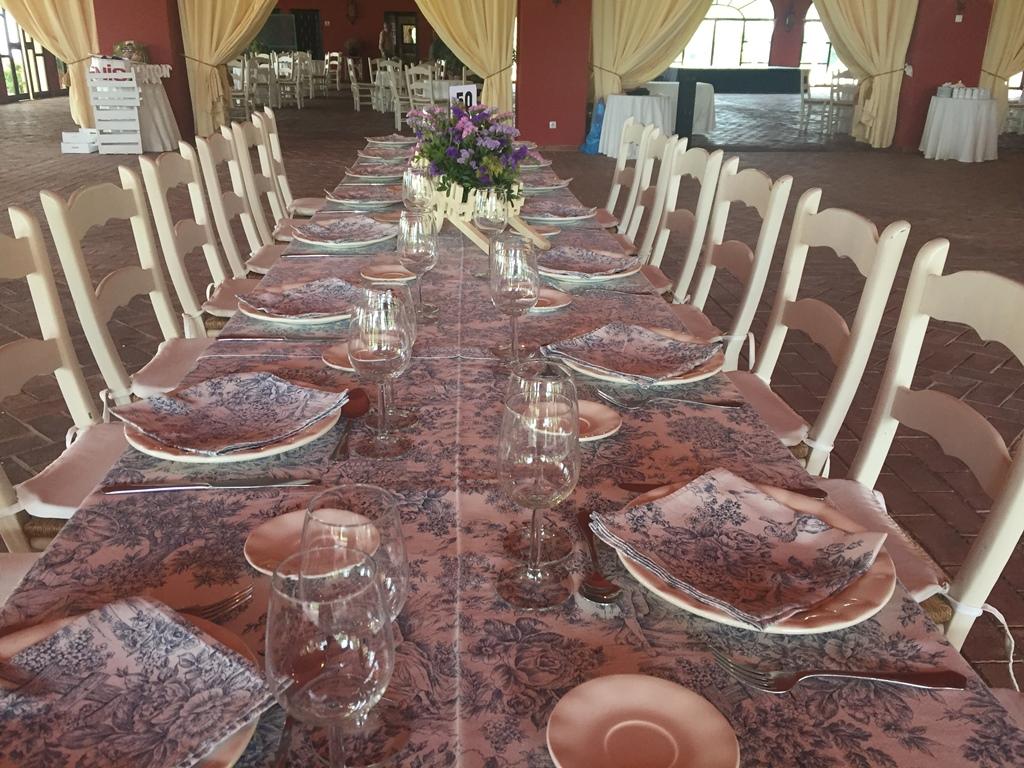 Mesa salón - Comunión Curro en Dehesa Bolaños