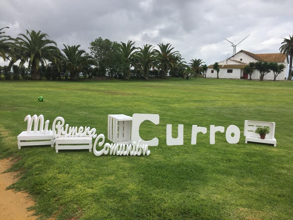 Letras mi primera comunión - Comunión Curro en Dehesa Bolaños