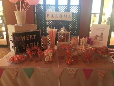Candy Bar - Comunión Paloma en Dehesa Bolaños