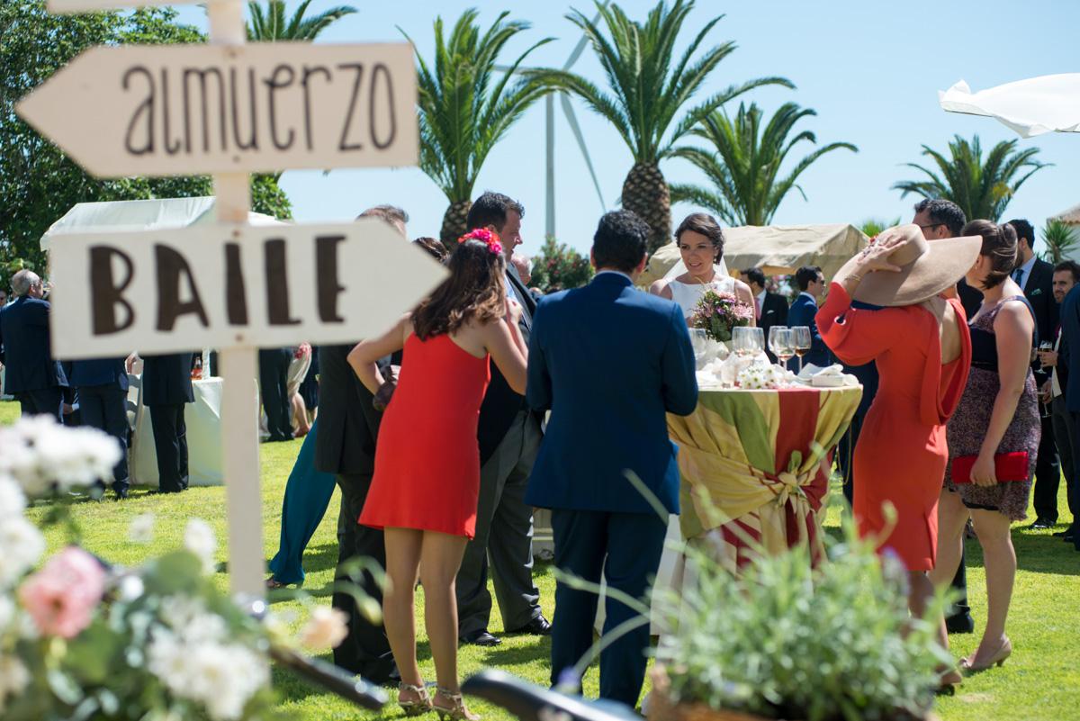 Indicaciones boda - Boda María & Álvaro en Dehesa Bolaños